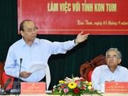 Premier vietnamita insta a provincia de Kon Tum a promover el desarrollo forestal sostenible