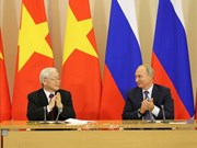 Secretario general del PCV: Lazos Vietnam- Rusia se consolida a pesar de vaivenes