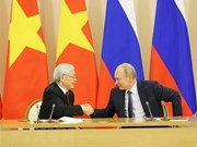 Vietnam y Rusia firman numerosos acuerdos de cooperación