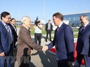 Dirigente partidista de Vietnam visita provincia rusa Kaluga