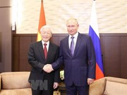 Máximo dirigente partidista de Vietnam concluye visita a Rusia