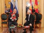 Prensa rusa destaca significado de la visita del máximo dirigente partidista de Vietnam