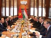 Vietnam y Hungría acuerdan elevar sus nexos a nivel de asociación integral