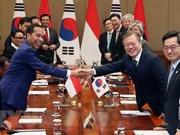 Corea del Sur e Indonesia prometen esfuerzos para reforzar su asociación estratégica