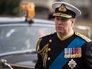 Máximo dirigente político de Vietnam recibe al príncipe Andrew del Reino Unido