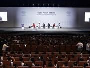 Inauguran en Vietnam Foro Económico Mundial sobre la ASEAN