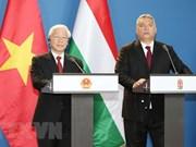 Vietnam y Hungría emiten Declaración conjunta sobre establecimiento de asociación integral