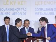 Empresas aéreas de Vietnam impulsan cooperación internacional