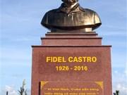 Dedican parque a Fidel en provincia vietnamita de Quang Tri