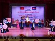 Celebran en Camboya Semana de Cultura de Vietnam