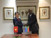 Vietnam y Sudáfrica  cooperan en combate contra crímenes