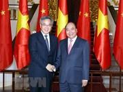 Premier vietnamita y subjefe del gobierno chino debaten medidas para agilizar lazos bilaterales