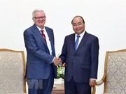 Vietnam y EE.UU. disponen de grandes potencialidades para cooperación, afirma premier Xuan Phuc