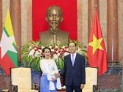 Vietnam atesora la amistad tradicional con Myanmar, afirma presidente