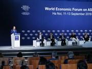 Concluyen conferencia de Foro Económico Mundial sobre ASEAN en Vietnam