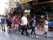 Crece nueve por ciento llegada de turistas a Hanoi