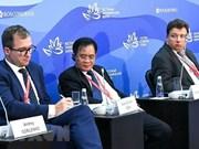 Activa participación vietnamita en Foro Económico Oriental en Rusia