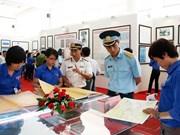 Exhiben documentos de prensa sobre Hoang Sa en ciudad central