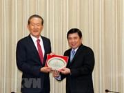 Desean invertir en Ciudad Ho Chi Minh empresas sudcoreanas