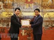 Honran al diplomático japonés por su contribución al desarrollo de Hanoi
