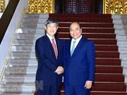 Premier de Vietnam propuso continua asistencia de Japón a su país