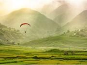Celebrarán festival de parapentes en zonas montañosas en el norte de Vietnam