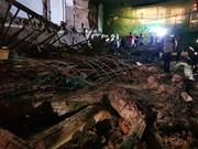 Colapso de edificio causa pérdida humana en Camboya