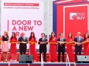 Universidad Británica de Vietnam inaugura su moderno campus en el país