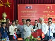 Fomentan cooperación en cultura y turismo entre localidades de Vietnam y Laos