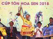 Atleta neerlandés gana torneo internacional de ciclismo en Vietnam