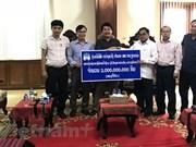 Empresa vietnamita continúa respaldando a laosianos afectados por colapso de presa