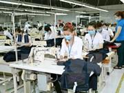 Exposición internacional de industria textil abre sus puertas en Hanoi