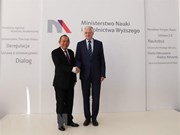 Vicepremier vietnamita inicia visita oficial a Polonia