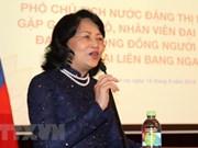 Vietnam prioriza perfeccionamiento de políticas de igualdad de género, afirma vicepresidenta