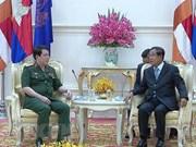Robustecen nexos Vietnam-Camboya en defensa