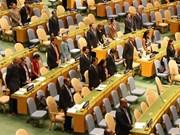 Asamblea General de la ONU guarda minuto de silencio por el presidente de Vietnam