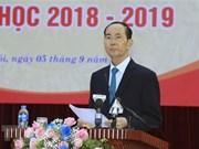 Prensa internacional publica sobre fallecimiento de presidente vietnamita