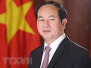 América Latina envía condolencias por deceso del presidente Tran Dai Quang