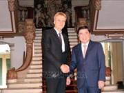 Impulsan cooperación multisectorial Ciudad Ho Chi Minh y provincia sueca de Upsala