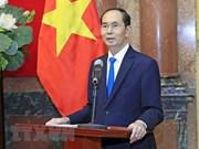 Papa Francisco y otros dirigentes mundiales envían condolencias por deceso del presidente de Vietnam
