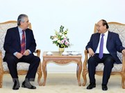 Premier vietnamita recibe a presidente de Confederación Sindical Internacional