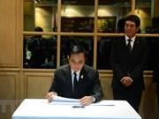 Premier de Tailandia rinde homenaje póstumo al presidente de Vietnam