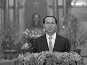 Resaltan legado de presidente vietnamita Tran Dai Quang en la policía popular