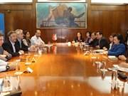 Vietnam y Argentina fomentan nexos de cooperación en sector de salud