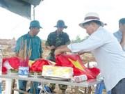 Entierran restos de combatientes vietnamitas caídos en la guerra