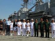 Inicia delegación de Marina Real de Nueva Zelanda visita amistosa a Vietnam