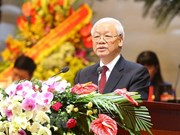Destaca máximo dirigente partidista de Vietnam liderazgo de la clase obrera en la Revolución