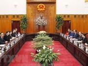 Premier vietnamita dialoga con su homólogo surcoreano sobre cooperación bilateral
