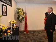 Representación de Vietnam ante ONU efectúa honra fúnebre por presidente Tran Dai Quang