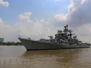 Visita metrópolis vietnamita destructor de Armada India